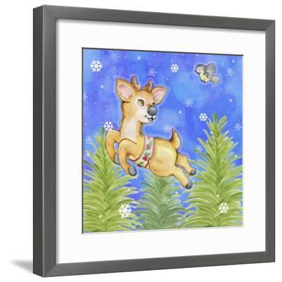 Flying Practice-Valarie Wade-Framed Premium Giclee Print