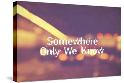 Somewhere Only We Know II-Vintage Skies-Stretched Canvas Print