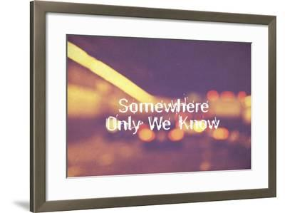 Somewhere Only We Know II-Vintage Skies-Framed Giclee Print