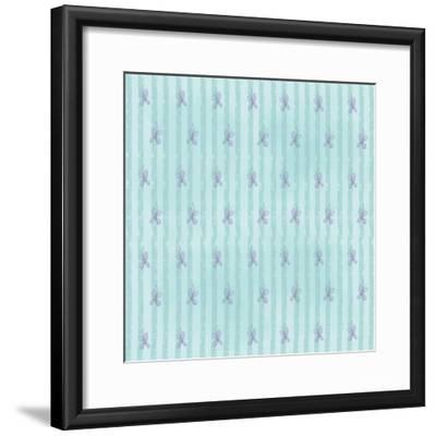 Buterfly Blues-Valarie Wade-Framed Giclee Print