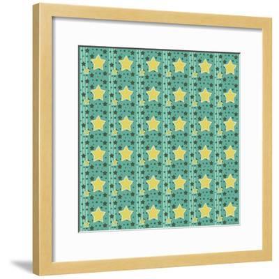 Stars 1-Valarie Wade-Framed Giclee Print