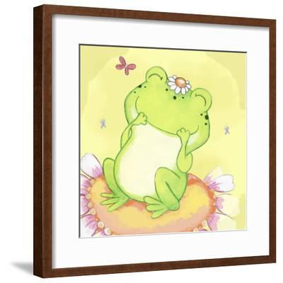 Giggles-Valarie Wade-Framed Premium Giclee Print