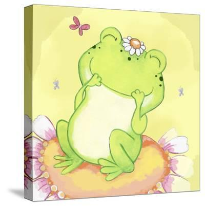 Giggles-Valarie Wade-Stretched Canvas Print