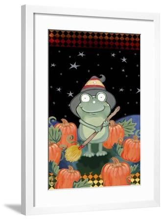 In the Pumpkin Patch-Valarie Wade-Framed Giclee Print