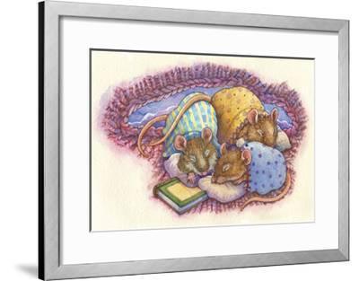 Bird Houses-Wendy Edelson-Framed Giclee Print