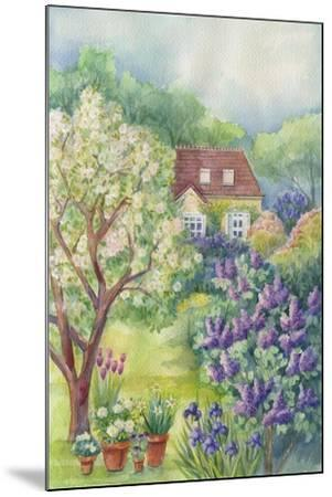 A Lilac Garden-ZPR Int'L-Mounted Giclee Print