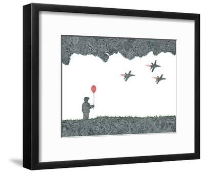 Childhood Dreams-Viz Art Ink-Framed Giclee Print