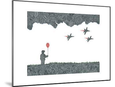 Childhood Dreams-Viz Art Ink-Mounted Giclee Print