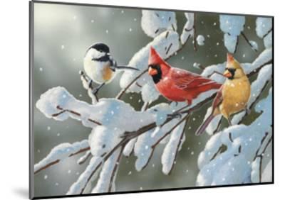 Heavy Snowfall-William Vanderdasson-Mounted Giclee Print