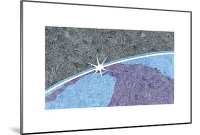 A New Day-Viz Art Ink-Mounted Giclee Print