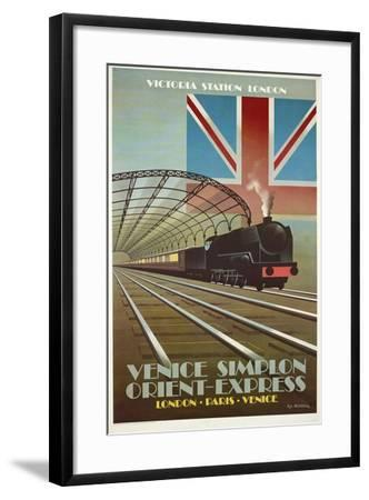 Orient Express-Vintage Apple Collection-Framed Giclee Print