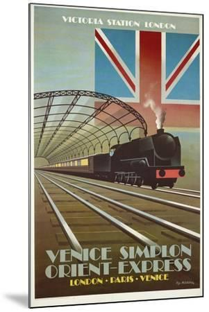 Orient Express-Vintage Apple Collection-Mounted Giclee Print