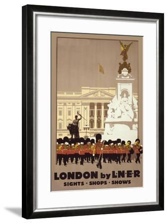 London by Liner-Vintage Apple Collection-Framed Giclee Print