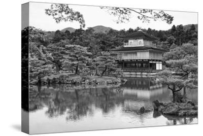 Asia, Japan, Kyoto. Kinkaku-Ji Zen Buddhist Temple-Dennis Flaherty-Stretched Canvas Print
