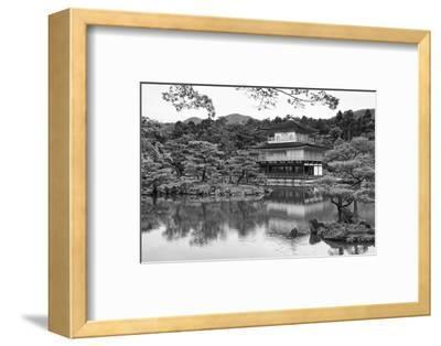 Asia, Japan, Kyoto. Kinkaku-Ji Zen Buddhist Temple-Dennis Flaherty-Framed Photographic Print