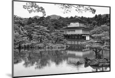 Asia, Japan, Kyoto. Kinkaku-Ji Zen Buddhist Temple-Dennis Flaherty-Mounted Photographic Print