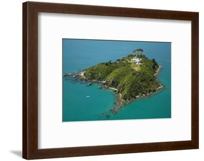 Matiu, Somes Island, Wellington Harbour, Wellington, New Zealand-David Wall-Framed Photographic Print