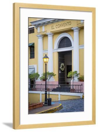 El Convento Hotel in Plazuela de las Monjas, San Juan, Puerto Rico-Brian Jannsen-Framed Photographic Print