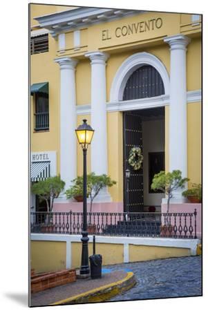 El Convento Hotel in Plazuela de las Monjas, San Juan, Puerto Rico-Brian Jannsen-Mounted Photographic Print