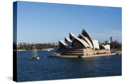 Australia, Sydney. Harbor Area, Landmark Sydney Opera House-Cindy Miller Hopkins-Stretched Canvas Print
