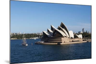 Australia, Sydney. Harbor Area, Landmark Sydney Opera House-Cindy Miller Hopkins-Mounted Photographic Print