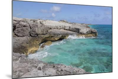 Bahamas, Exuma Island, Cays Land and Sea Park. Site of the Blow Hole-Don Paulson-Mounted Photographic Print