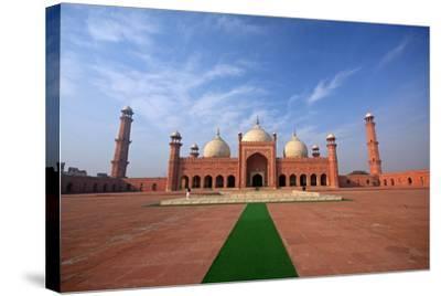 Badshahi Masjid, Lahore, Pakistan-Yasir Nisar-Stretched Canvas Print