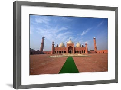 Badshahi Masjid, Lahore, Pakistan-Yasir Nisar-Framed Photographic Print