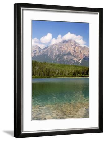 Canada, Alberta, Jasper NP, Pyramid Mountain and Patricia Lake-Jamie & Judy Wild-Framed Photographic Print