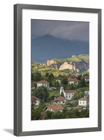 Bulgaria, Southern Mountains, Melnik-Area, Village of Lozenitsa-Walter Bibikow-Framed Photographic Print