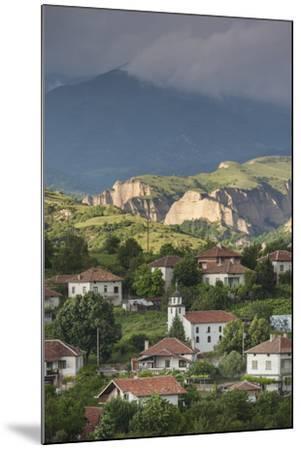 Bulgaria, Southern Mountains, Melnik-Area, Village of Lozenitsa-Walter Bibikow-Mounted Photographic Print