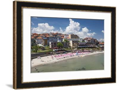 Bulgaria, Black Sea Coast, Sozopol, Town Beach-Walter Bibikow-Framed Photographic Print