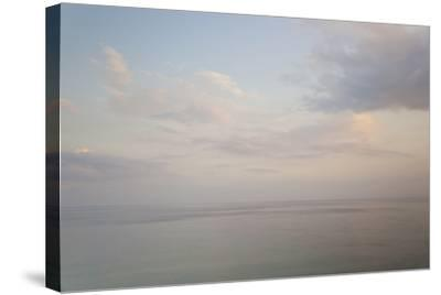 Sea and Sky, Rhodes, Greece-Peter Adams-Stretched Canvas Print