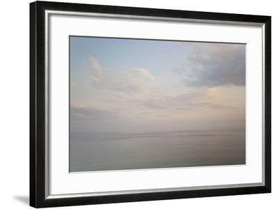 Sea and Sky, Rhodes, Greece-Peter Adams-Framed Photographic Print