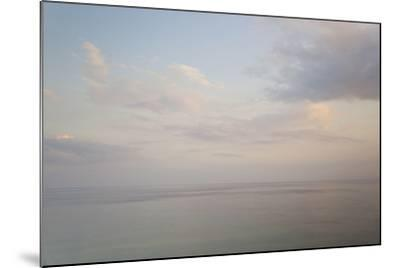 Sea and Sky, Rhodes, Greece-Peter Adams-Mounted Photographic Print