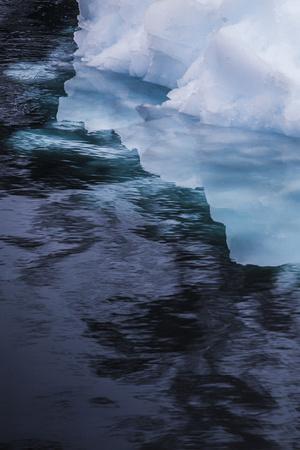 Antarctica. Close-up of an Iceberg-Janet Muir-Framed Photographic Print