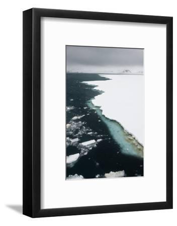 Antarctica. Pack Ice Edge-Janet Muir-Framed Photographic Print