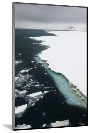 Antarctica. Pack Ice Edge-Janet Muir-Mounted Photographic Print