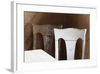 USA, California, Mono Lake, Bodie Chairs-John Ford-Framed Photographic Print