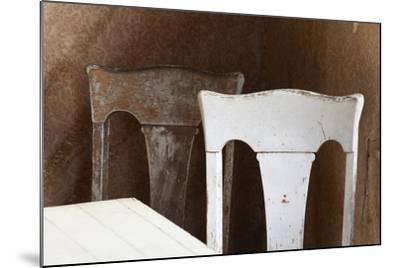 USA, California, Mono Lake, Bodie Chairs-John Ford-Mounted Photographic Print