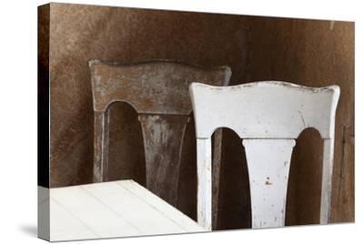 USA, California, Mono Lake, Bodie Chairs-John Ford-Stretched Canvas Print