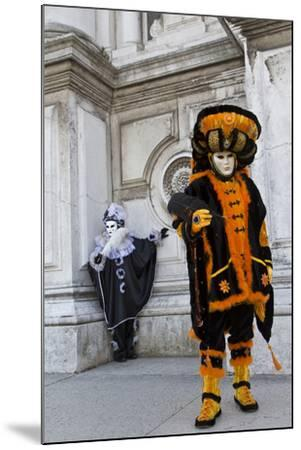 Venice, Italy. Mask and Costumes at Carnival-Darrell Gulin-Mounted Photographic Print