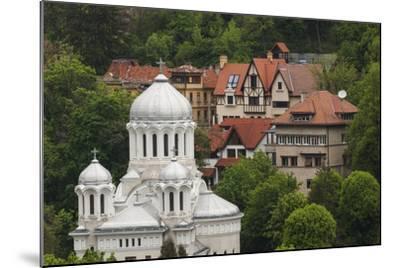 Romania, Transylvania, Brasov, Buna Vestire Orthodox Church-Walter Bibikow-Mounted Photographic Print