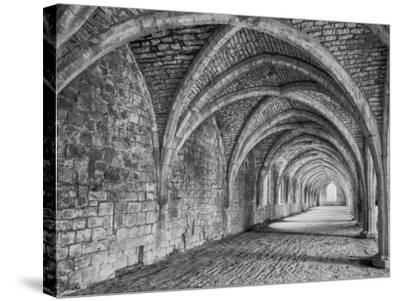 Fountains Abbey Yorkshire England-John Ford-Stretched Canvas Print