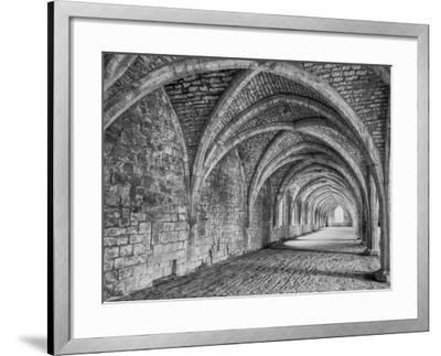 Fountains Abbey Yorkshire England-John Ford-Framed Photographic Print
