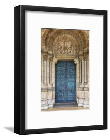 Doors to Basilique Du Sacre Coeur, Montmartre, Paris, France-Brian Jannsen-Framed Premium Photographic Print