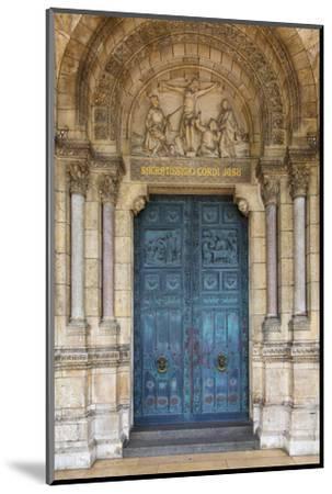 Doors to Basilique Du Sacre Coeur, Montmartre, Paris, France-Brian Jannsen-Mounted Premium Photographic Print
