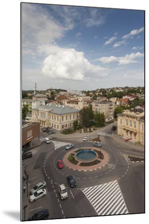Romania, Danube River Delta, Tulcea, Elevated City View-Walter Bibikow-Mounted Photographic Print