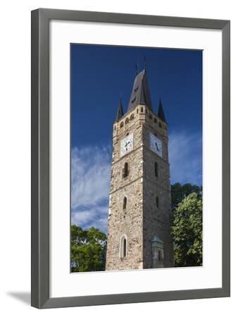 Romania, Maramures Region, Baia Mare, St. Stephan's Tower-Walter Bibikow-Framed Photographic Print