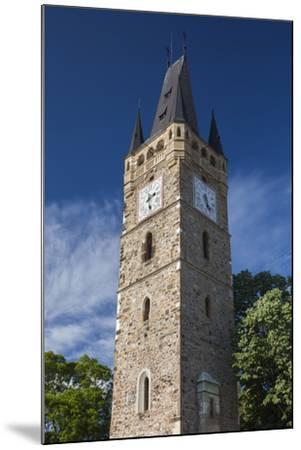 Romania, Maramures Region, Baia Mare, St. Stephan's Tower-Walter Bibikow-Mounted Photographic Print